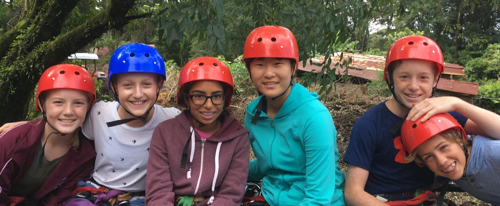 Un grupo de estudiantes de la ESO en un Especial Junior d conservación.